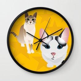 MyCats Wall Clock