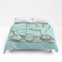 Ben's Monster Trucks no.1 Comforters