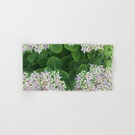 Bloomed Succulent  Hand & Bath Towel