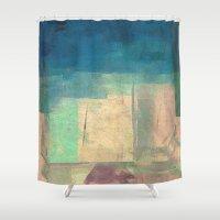 buddhism Shower Curtains featuring गौतम की जागृति (Gautama's Awakening) by Fernando Vieira