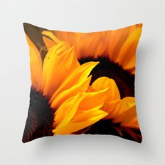 Sunflowers for my beloved Anna Throw Pillow