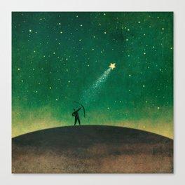 Stars Archer Canvas Print
