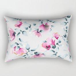 Raining Roses Rectangular Pillow