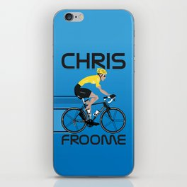 Chris Froome Yellow Jersey iPhone Skin
