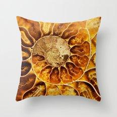 AMAZING AMMONITE Throw Pillow