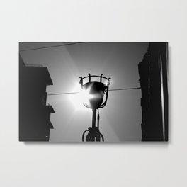 lights on  Metal Print