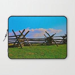 Fence @ Antietam Laptop Sleeve