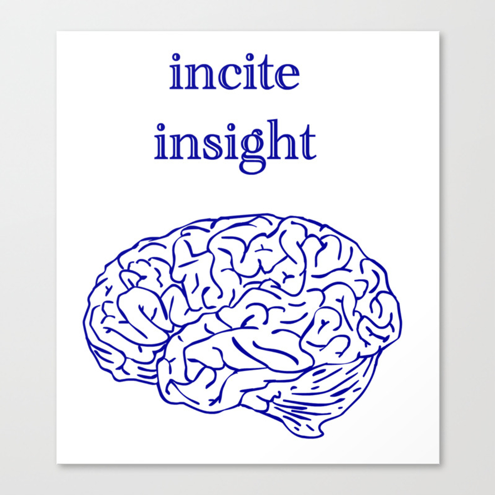 Incite Insight Canvas Print by Ethanwallett CNV8704294