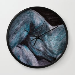 goodnight moonlight lady Wall Clock