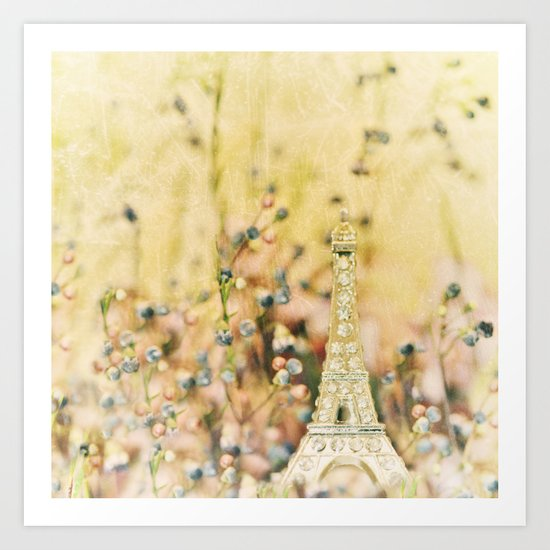 Dreaming of Paris in the Springtime... Art Print