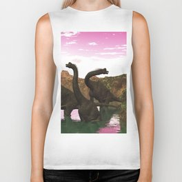 Brachiosaurus Biker Tank