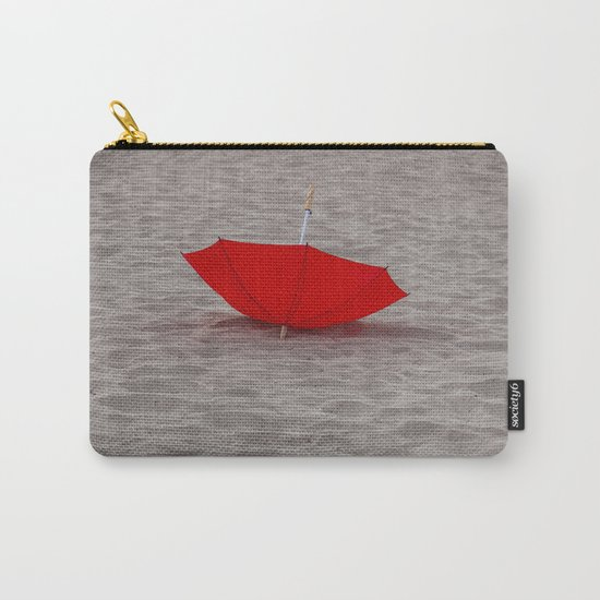 Lost red Umbrella Carry-All Pouch