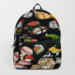 Sushi Black Backpack