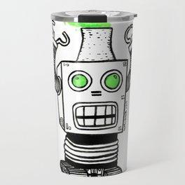 Robo-Meltdown Travel Mug