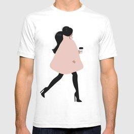 Bubble Coat Illustration by Sabina Fenn T-shirt
