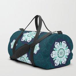 Rock Climbing Mandala Duffle Bag