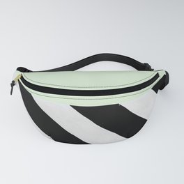 PARALLEL_LINES_GREEN_MINT Fanny Pack