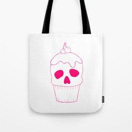 Skullcake Pink Tote Bag