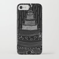 cake iPhone & iPod Cases featuring Cake by girlbhindscreen