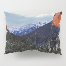 Sunrise trip to the mountains Pillow Sham
