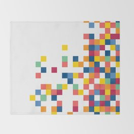 Squares II Throw Blanket