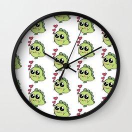 Lenny Love Monster Wall Clock
