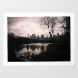 The Park. Art Print