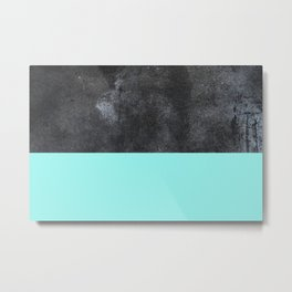 Concrete mix. Metal Print