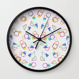 Stain Wall Clock