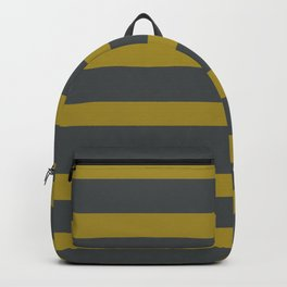 Yellow Olive Green Backpack