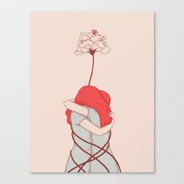 Hug Canvas Print