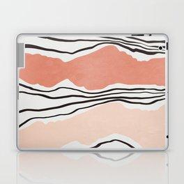 Modern irregular Stripes 01 Laptop & iPad Skin