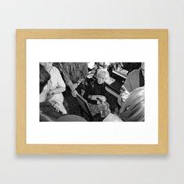 Celeb Series (Pt. 2 - Joanna Coles) Framed Art Print