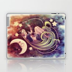 The Moon and the (Rock)Star Laptop & iPad Skin