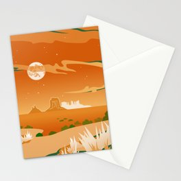 Monument Moon Stationery Cards