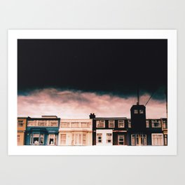 The Old Girl, Blackpool Art Print