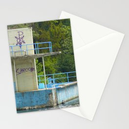 Lost Places, the bath 02 Stationery Cards