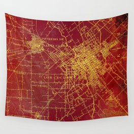 San Jose old map year 1899, united states vintage maps Wall Tapestry