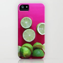 Cherry Limeade iPhone Case