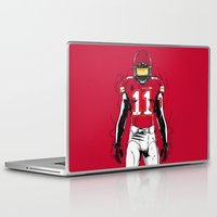 kansas city Laptop & iPad Skins featuring SB L Kansas City by Akyanyme