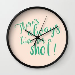 Always Shot-time ! Wall Clock