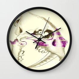 Sabertooth Tiger Skull Wall Clock