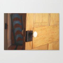 Open Door Policy Canvas Print