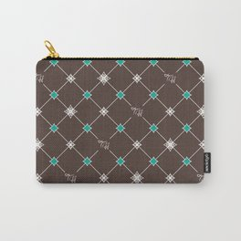Breakfast at Tiffany's with Chocolate Carry-All Pouch