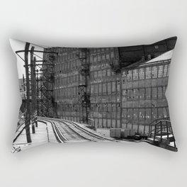 Bethlehem Steel Railroad tracks 1 Rectangular Pillow