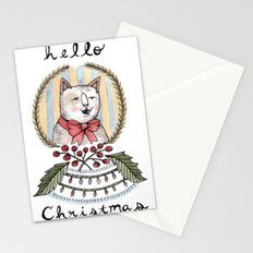 hello christmas Stationery Cards