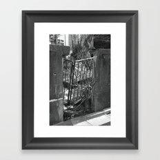 The Forbidden Gate Framed Art Print