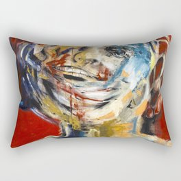 """Impossible Monsters """"Red"""" Rectangular Pillow"""