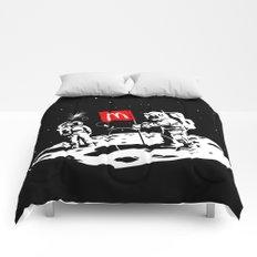 First we take Manhattan, Then we take Moon Comforters