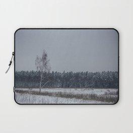winter scene Laptop Sleeve